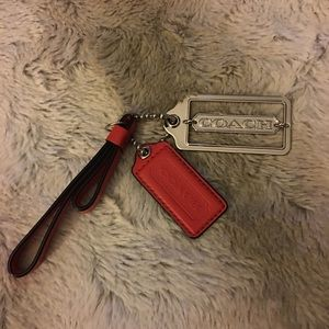 Coach tags/key chain